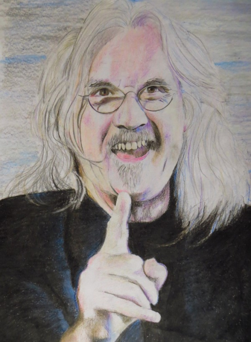 Billy Connolly por dbishoptattoo
